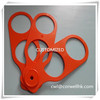 Customized drinking can ABS plastic carrier with 6 holes