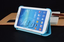 For Samsung Galaxy Tab 3 V Case , Ultra Thin Wallet Stand Flip PU Leather For Samsung Galaxy Tab 3 V 7.0 T116NU 116