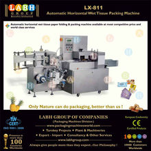 Automatic Horizontal Wet Tissue Packing Machine