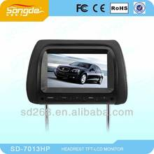 Factory direct sale: 7inch Headrest Car Monitor