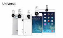 Universal Fisheye Lens 235 Degree Super Moblie Phone Lenses fojo de pez for iPhone 6/5S/5/4S Samsung Galaxy S3/S4/S5 Note2/3