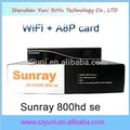 Sunray 800hd si receptor de satélite sima8p para dreambox original dm800se bcm4505 400 mhz sintonizador com 300 mbps enigma2 wi-fi e sistema operacional