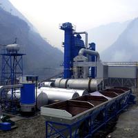 LB1000 Hot Mix Asphalt Concrete Batching Plant for Highway 80t/h