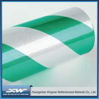 Self adhesive hazard warning reflective tape