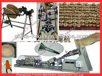 Automatic and manual rice straw rope machine/rope making machine/hay band spinning machine