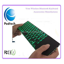 Rii8+2.4Ghz Backlit Aluminum Wireless Mini Keyboard for Android and Windows Devices
