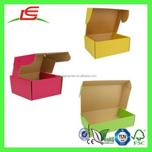 Q1098 Custom Printed Colored Mailer Boxes, Strong Shipping Box Wholesale