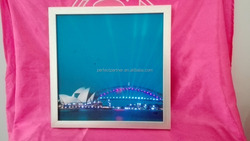 2015 new fancy light up picture frame