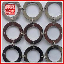 silver shiny metallic curtain factory