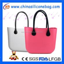 Eco-friendly eva bag rubber bag silicone eva rubber bag
