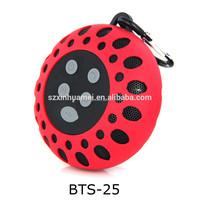 Water resistant wireless sport speaker with hook, wireless speaker for back pack, outdoor activities wireless speaker for climb
