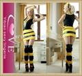 venta al por mayor de moda de las señoras mini vestidos de carnaval sexy disfraces de la abeja