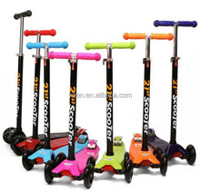 2014 Newest Popular Kids' Foot Scooters Liftable Children's Kick Scooters Promotional Colored Three-Wheel Scooters