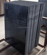 Angola black granite outdoor tiles