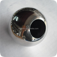 304 201 38mm Decorative Stainless Steel Hollow Ball With Hole