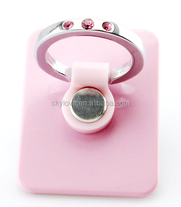 Creative Universal metal ring holder funny cell phone holder for desk