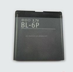 manufacture mobile phone battery for NOKIA BL-6P batteries