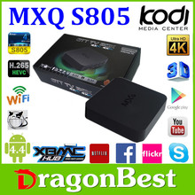 Tv Box Android 4.4 Tv Box Mxq Amlogic S805 Supporting Xmbc And Dlna Functions Android Tv Box