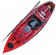 2015 New Arrival Single sit on top fishing kayak wholesale