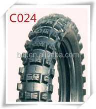 Motorcycle tyres for philippine market 80/100-12 300-12 dunlop pattern