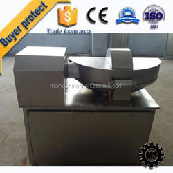 machine for small model meat bowl cutter chopper mixer for export