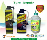 450ml iso9001 tyre sealant and inflatror aerosol