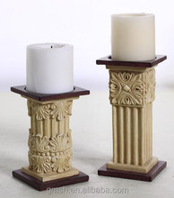 A pair of Traditional candle holder,resin antique candle holders