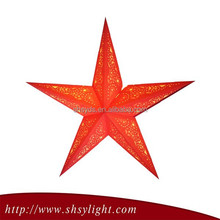 Red Many Size paper star lanterns wholesale
