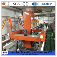 Metal finishing equipment automatic micron plating line
