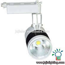 30w LED Track Light COB White Black Body