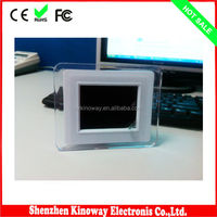 Mini 3.5Inch Latest Portable Digital Photo Frame Price Best Acrylicl Material Play Photo Automatically