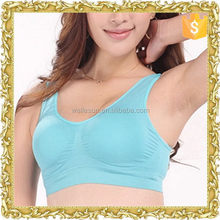 New coming nylon spandex blank seamless tank top