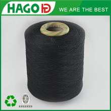 color shade card colored cotton polyester blended yarn