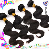 2013 Most popular hot sale virgin expression hair weave wholesale