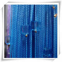 chinese woven Technics beaded string curtains