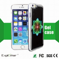 Alibaba best quality color mobile phone case with crystal