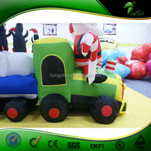 2015 Hot sale large outdoor christmas train decorations