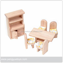antique doll furniture , wooden mini furnitures , miniature doll house furniture