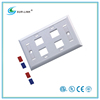 4 Port 120Type Faceplate