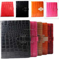 Quality Products Alligator pattern belt Leather Case For iPad air China Factory