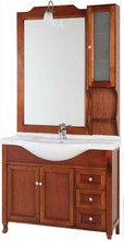 China wholesale bathroom furniture(BZIT004) High end ikea competitive price bathroom cabinet