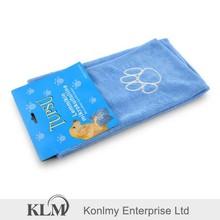 KLM-038 Jiangsu factory cheap sale customized microfiber bath towel for pet, animal