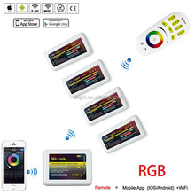 RF 2.4G 4-zone RGB LED Remote Controller