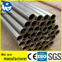 Schedule 20 40 80 erw lasw ssaw SS400 welded pipe manufacturer