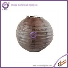 k5434 stainless steel black hanging round paper decorative outdoor japanese lantern