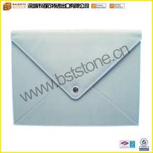 Pale Blue A4 Envelope Portfolio With Flap Closure