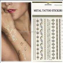 Stock and customized temporary glitter glow tattoo design