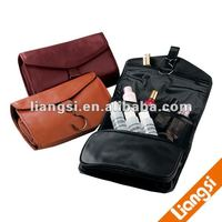 Genuine Leather Rolling makeup case