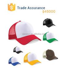 2015 Hot Sale Colorful Mesh Baseball Hat Summer Mesh Back Cap Sun Visor Baseball Hat Unisex