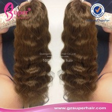 Silk base full lace human hair wigs perruque cap for black women